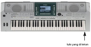 Reset Factory Keyboard Yamaha PSR