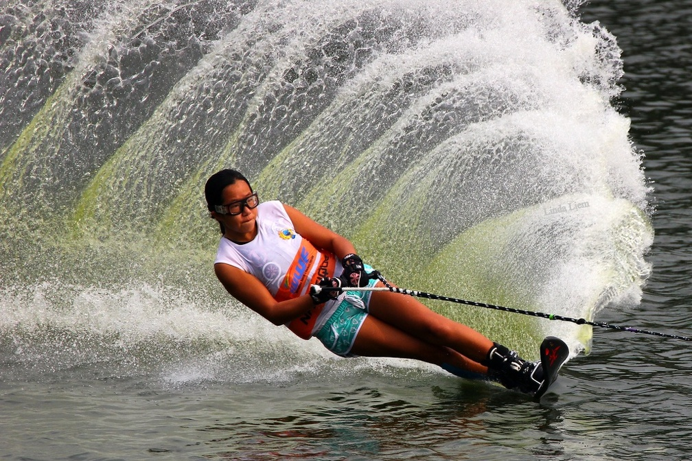 Sport Action Slalom Asian Championship di Danau Sunter September 2013 oleh Linda Halim