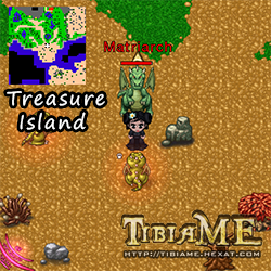 King Telur Emas di Treasure Island