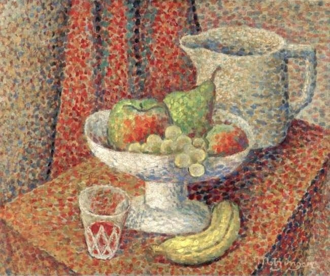 Jean Metzinger, 1905, Nature Morte, oil on canvas, 38 x 47 cm, 72dpi