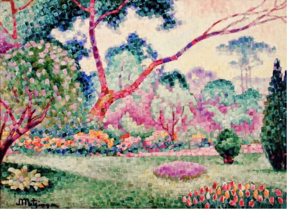 Jean Metzinger, 1906, Parc Monceau, oil on canvas, 52.1 x 71 cm, private collection