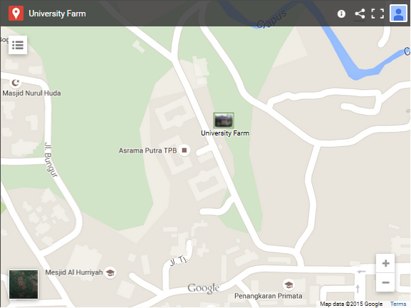 Google-Map-University-Farm-IPB