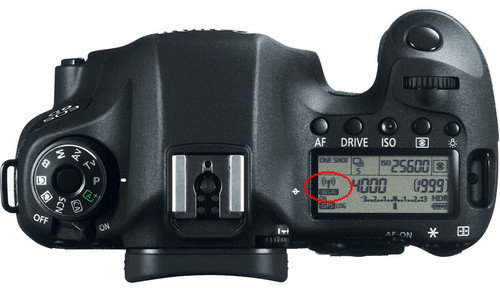 Wi-Fi Enable di LCD Panel Canon 6D