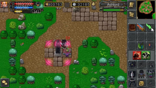 Item Spectral Crystal use di tiang