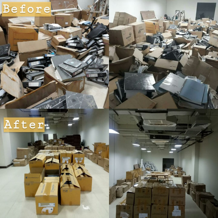 Arsip Inaktif (before and after)